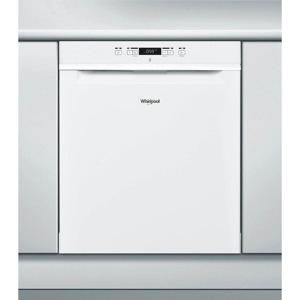 Whirlpool diskmaskin: färg vit, 60 cm - WUC 3C24 F