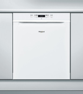 Whirlpool-opvaskemaskine: hvid farve, fuld størrelse - WUC 3C24 F