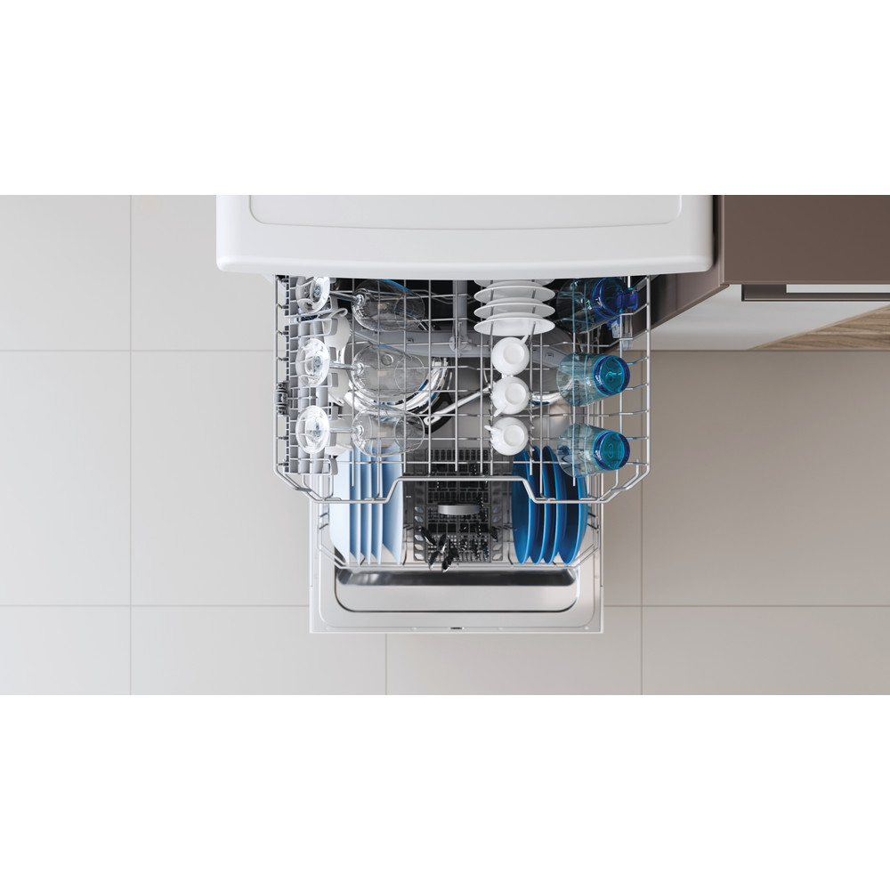 Indesit Посудомоечная машина Отдельностоящий DFE 1B19 13 Отдельностоящий A Rack
