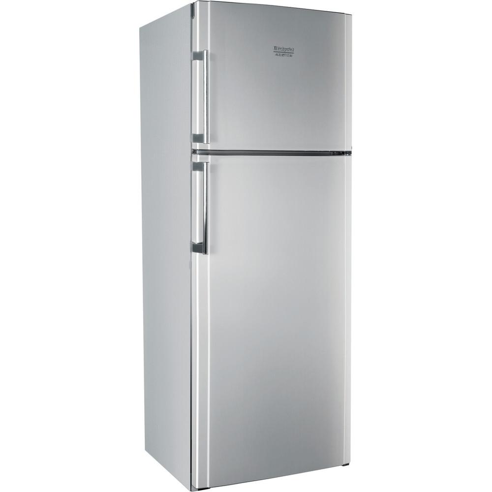 Hotpoint_Ariston Combinazione Frigorifero/Congelatore Libera installazione ENTMH 192A1 FW1 Silver lucido 2 porte Perspective