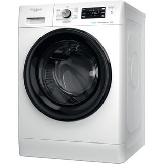 Whirlpool Máquina de lavar roupa Independente com possibilidade de integrar FFB 9258 BV PT Branco Carga Frontal B Perspective