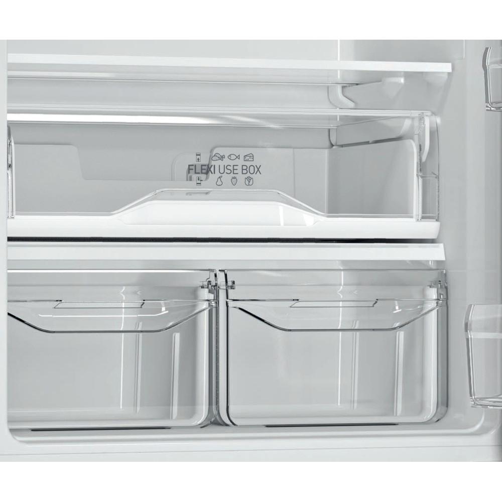 Indesit Холодильник с морозильной камерой Отдельностоящий ITF 020 B Черный 2 doors Drawer