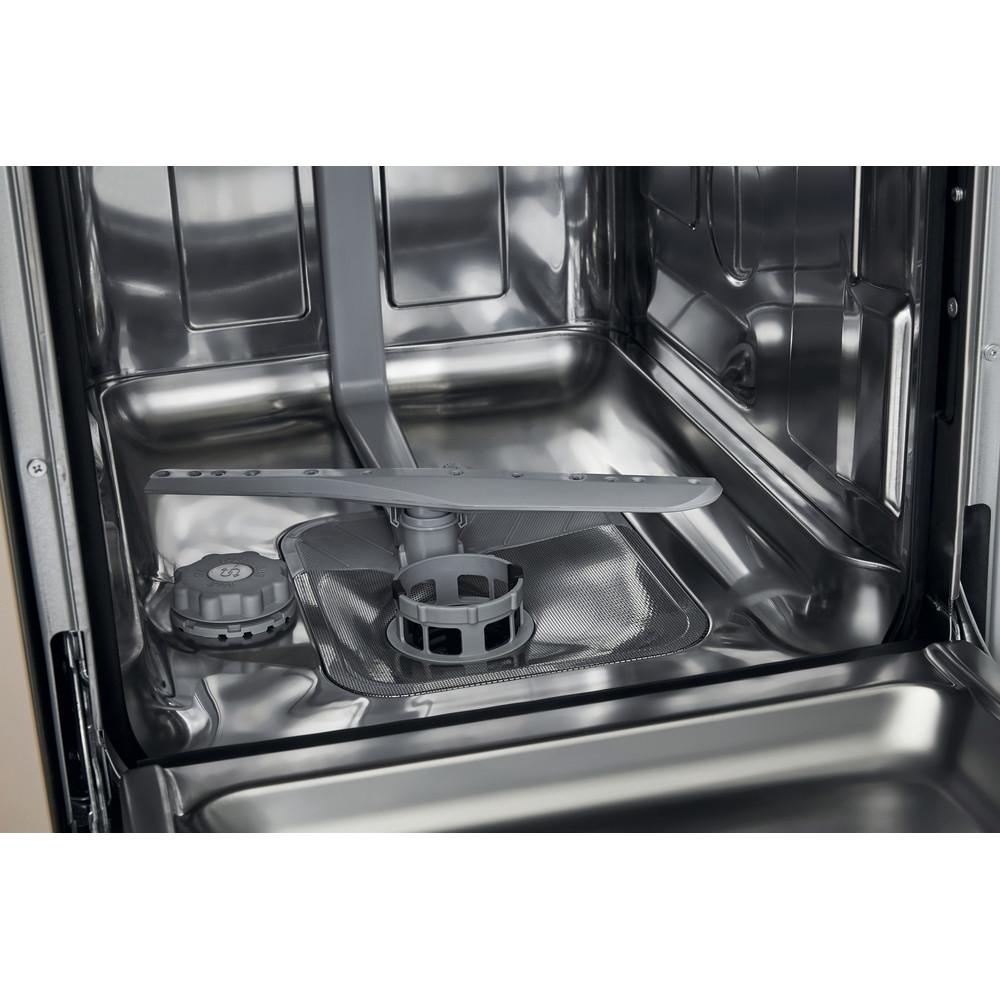 Indesit Mašina za pranje posuđa ugradbeni DSIE 2B10 A scomparsa totale A+ Cavity