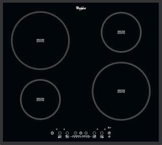 Whirlpool glaskeramisk induktionskogeplade - ACM 804/BA
