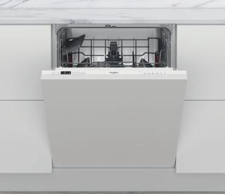 Integreret Whirlpool-opvaskemaskine: hvid farve, fuld størrelse - WIS 5010