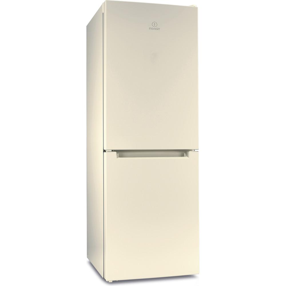 Indesit Холодильник с морозильной камерой Отдельностоящий DS 4160 E Розово-белый 2 doors Perspective