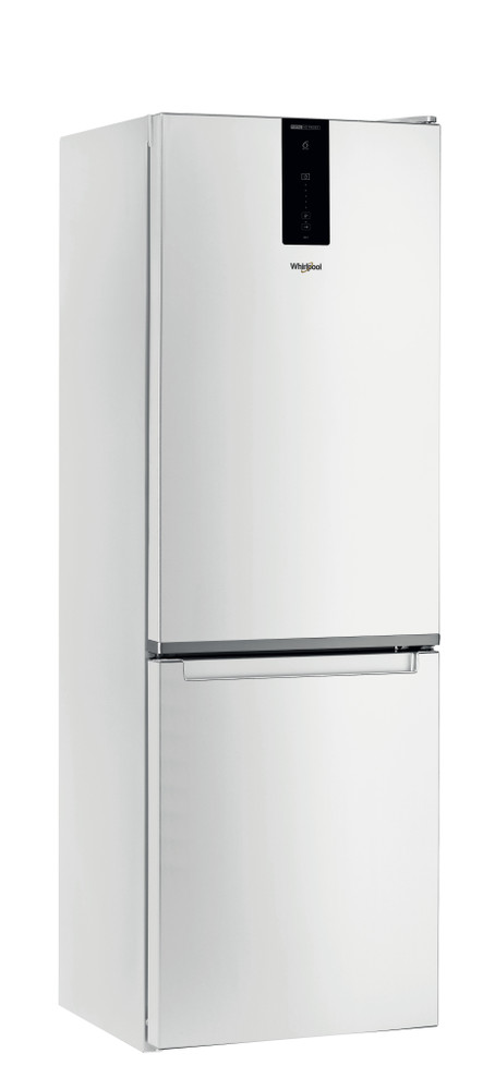 Whirlpool Fridge/freezer combination Samostojeća W7 821O W Bela 2 vrata Perspective
