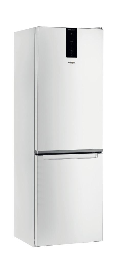 Whirlpool Kombinacija hladnjaka/zamrzivača Samostojeći W7 821O W Bijela 2 doors Perspective