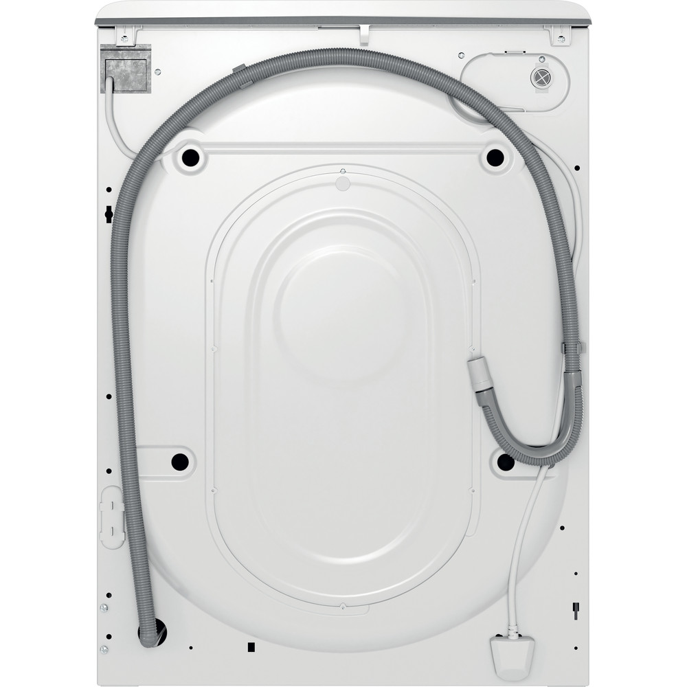 Indesit Waschmaschine Freistehend MTWE 81283E W DE Weiß Frontlader D Back / Lateral