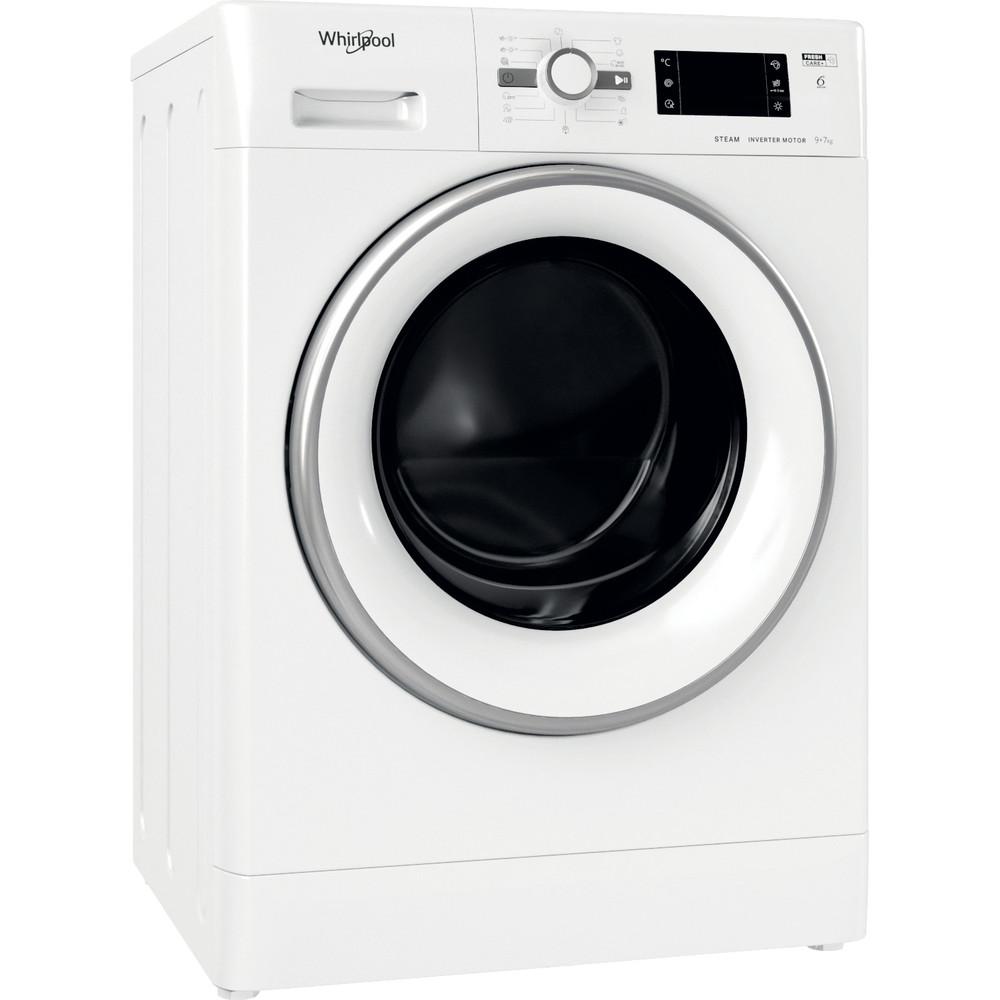 Whirlpool fristående tvätt-tork: 9 kg - FWDG 971682E WSV EU N