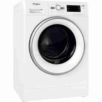 Whirlpool Maşină de spălat rufe cu uscător Independent FWDG 971682E WSV EU N Alb Încărcare frontală Perspective