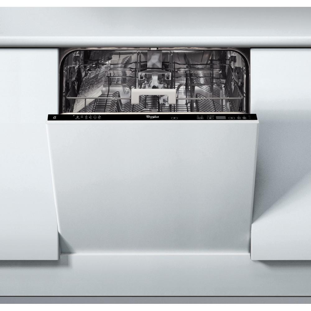 Whirlpool integrerad diskmaskin: färg svart, 60 cm - ADG 8473 FD
