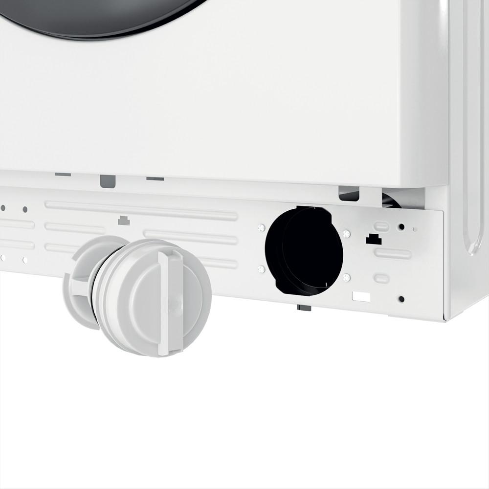 Indsit Maşină de spălat rufe Independent MTWE 81283 WK EE Alb Încărcare frontală D Filter