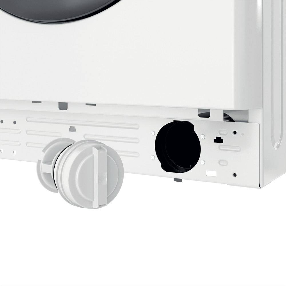 Indesit Pračka Volně stojící MTWE 81283 WK EE Bílá Front loader D Filter