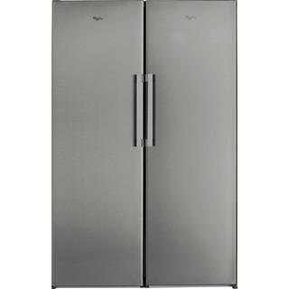 Whirlpool freestanding fridge: inox color - SW8 1Q XR UK.1