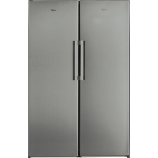 Whirlpool Refrigerator Free-standing SW8 1Q XR UK.1 Optic Inox Frontal