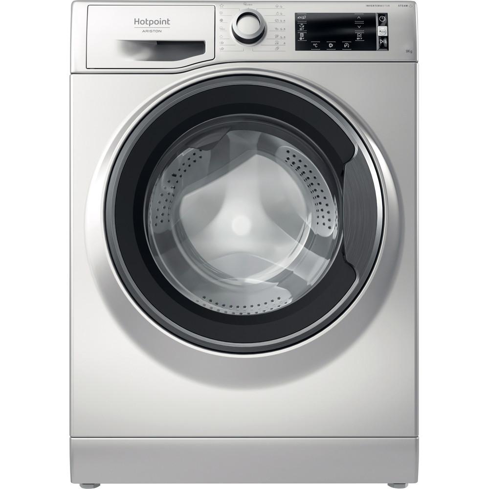 Hotpoint_Ariston Máquina de lavar roupa Livre Instalação NLCD 945 SS A EU N Prateado Carga Frontal B Frontal