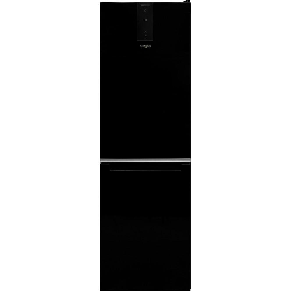 Frigorífico combi de libre instalación W7 821O K Whirlpool: Color negro 338L Total No Frost A++ tirador integrado