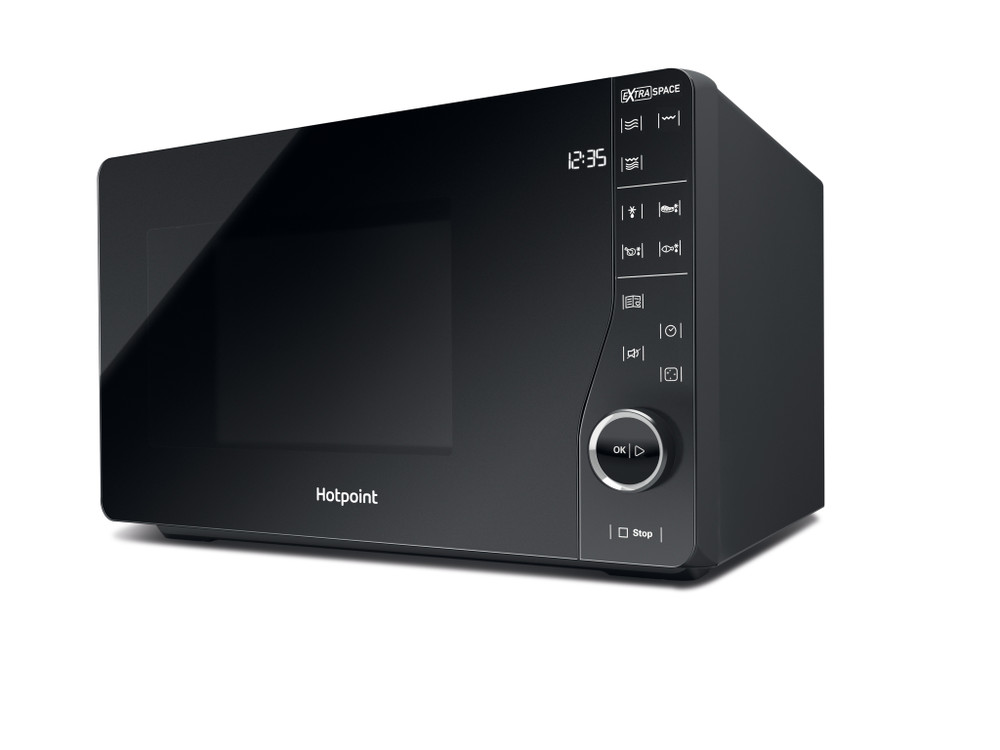 Hotpoint MWH2622MB Xtraspace Flatbed