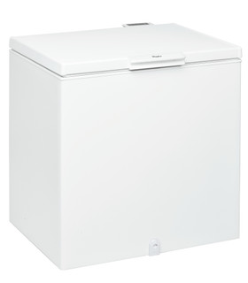 Vapaasti sijoitettava Whirlpool säiliöpakastin: Valkoinen - WHS2121