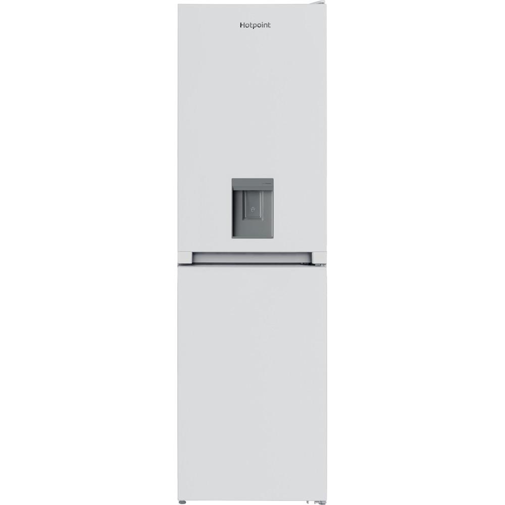 Hotpoint Fridge Freezer Free-standing HBNF 55181 W AQUA UK 1 White 2 doors Frontal