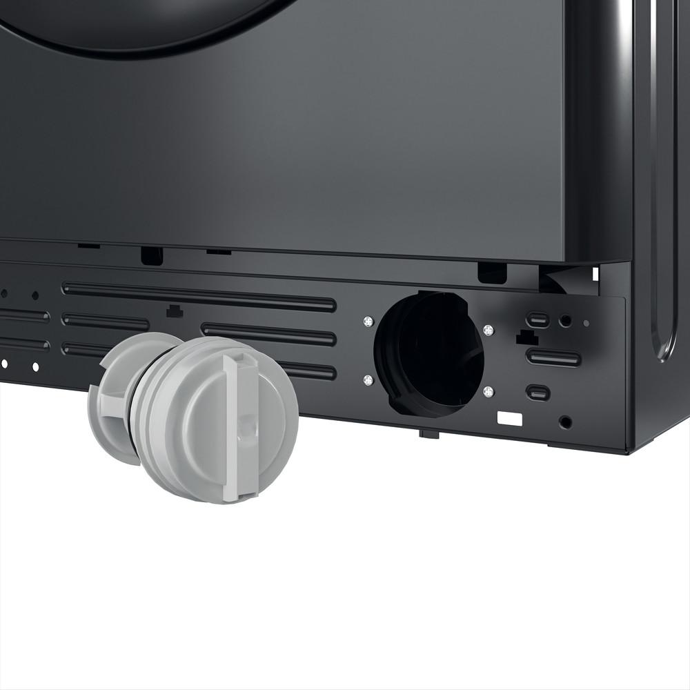 Indesit Washing machine Free-standing MTWC 71252 K UK Black Front loader E Filter
