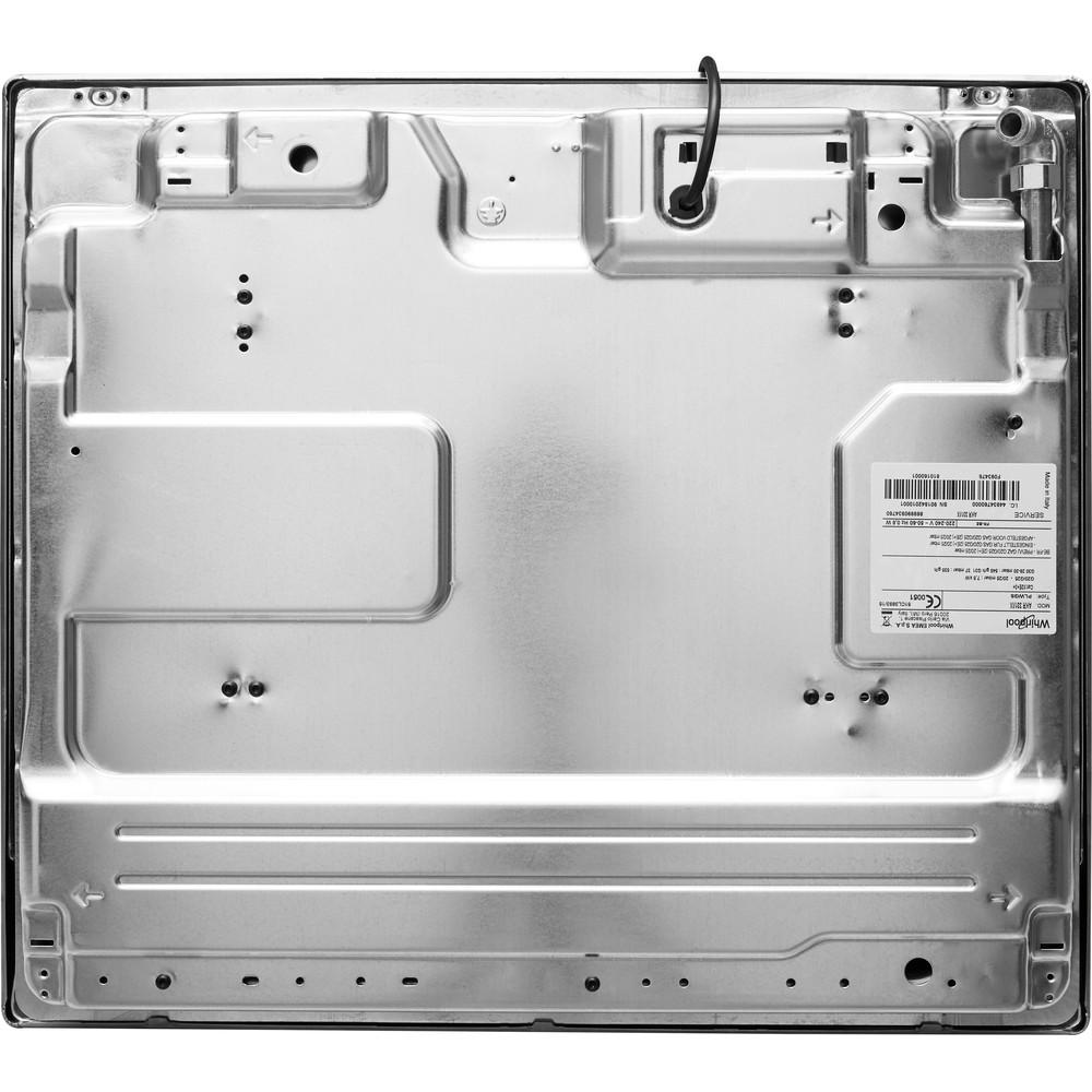 Encimera de gas Whirlpool: 4 quemadores de gas - AKM 260/IX/01