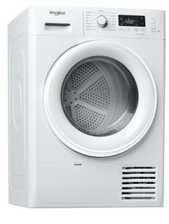 Whirlpool condenser tumble dryer: freestanding, 8kg - FT CM11 8B GCC
