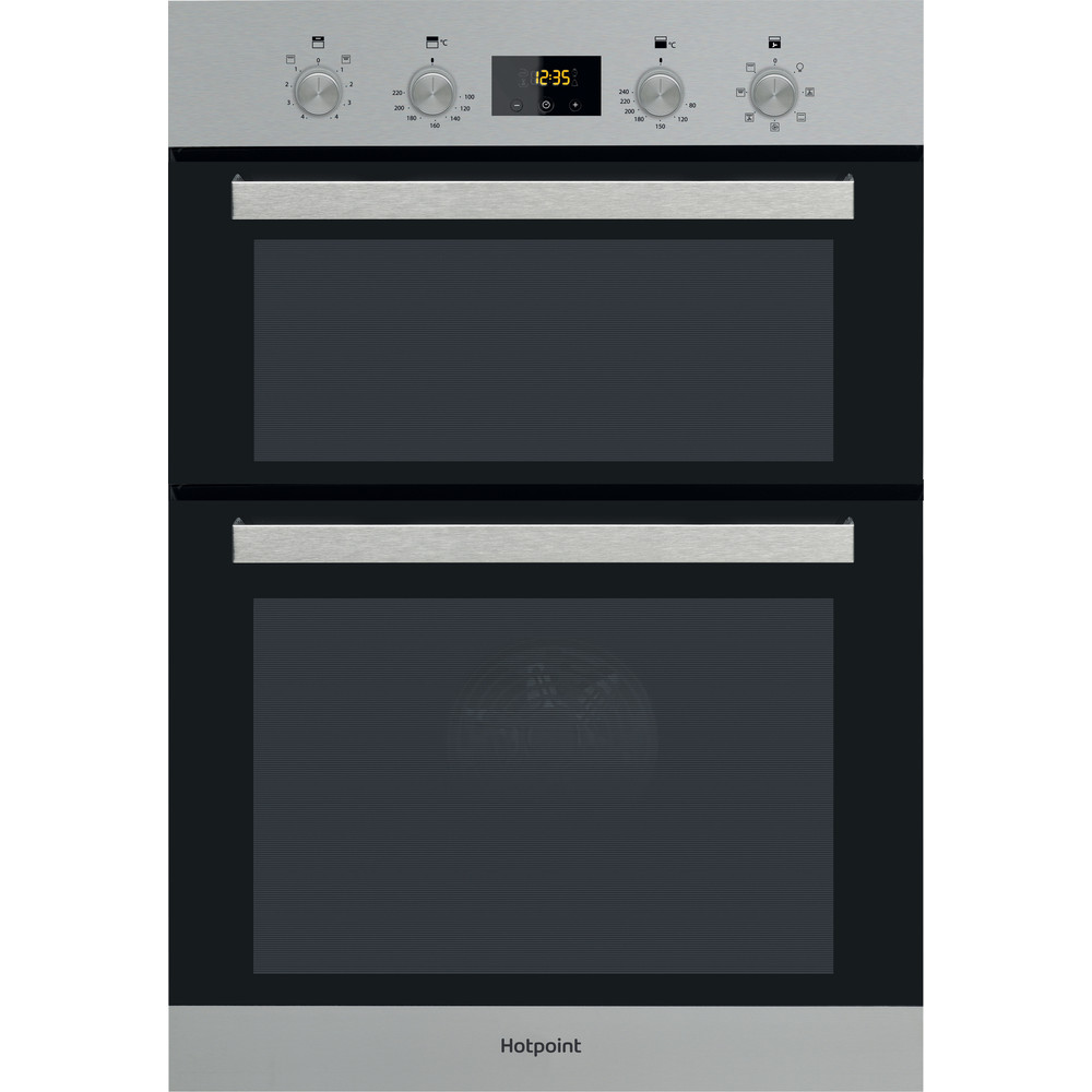 Hotpoint Double oven DKD3 841 IX Inox A Frontal