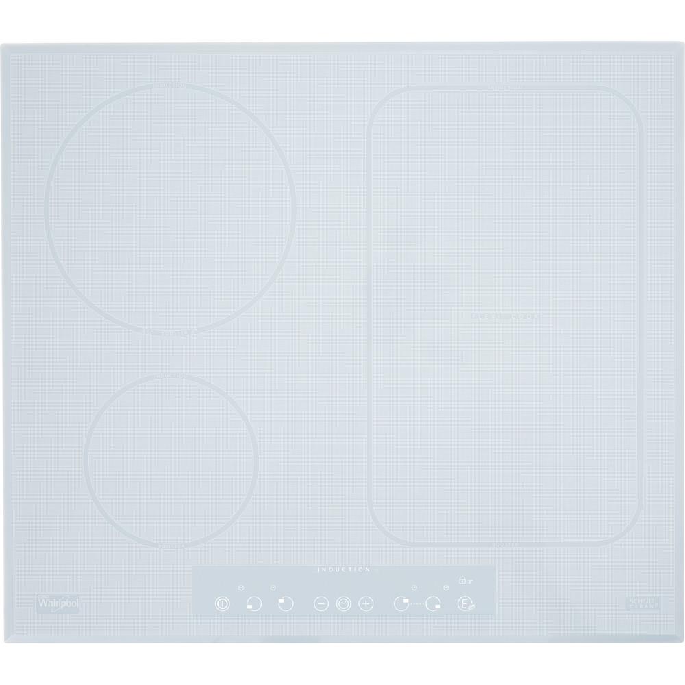 Placa de inducción Whirlpool ACM 808/BA/WH con FlexiCook de color blanco