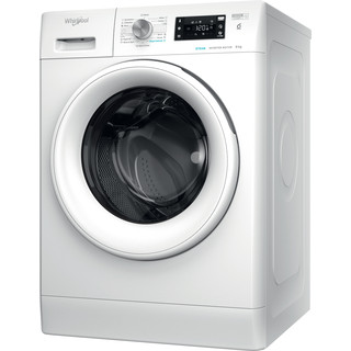 Whirlpool Perilica za rublje Samostojeći FFB 9458 WV EE Bijela Prednje punjenje B Perspective