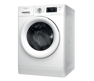 Vapaasti sijoitettava edestä täytettävä Whirlpool pyykinpesukone: 9 kg - FFB 9638 WV EU