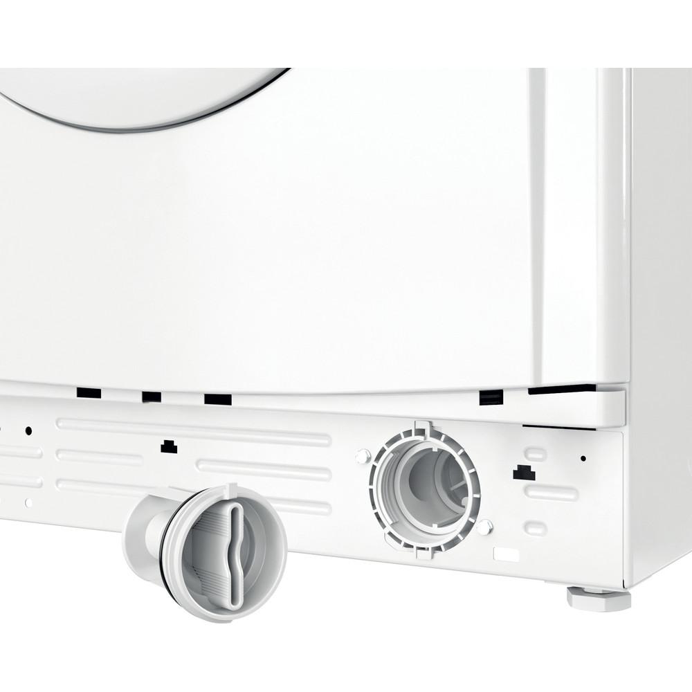 Indesit Перална машина Свободностоящи EWC 71252 W EE N Бял Предно зареждане E Filter