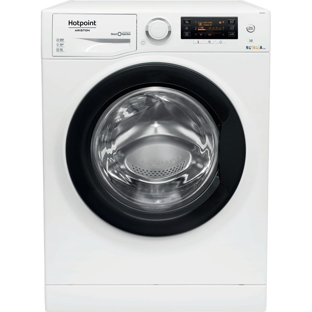 Hotpoint_Ariston Maşină de spălat rufe cu uscător Neincorporabil RDPD 96407 JD EU.1 Alb Încărcare frontală Frontal