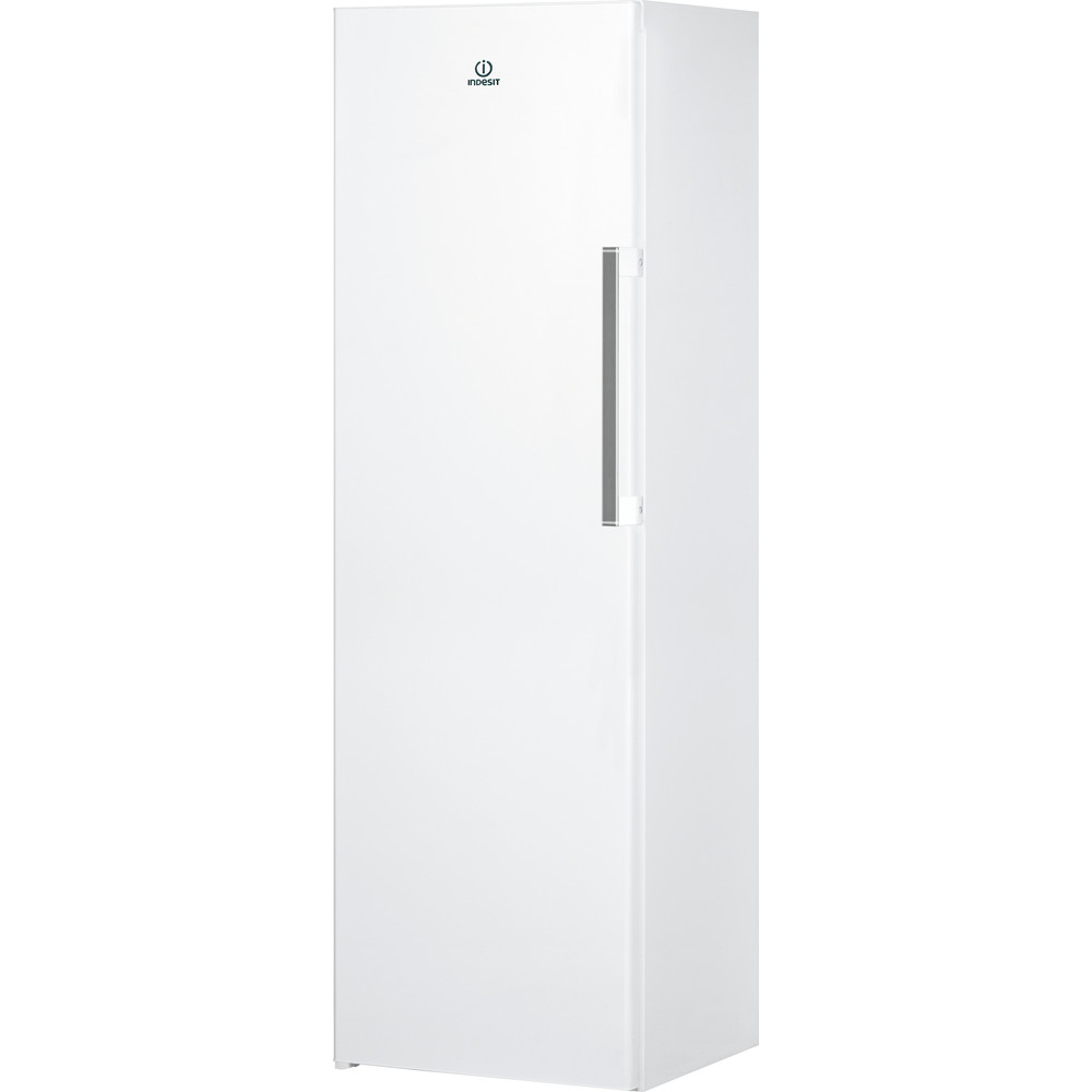 Indesit Freezer Free-standing UI8 F1C W UK 1 Global white Perspective