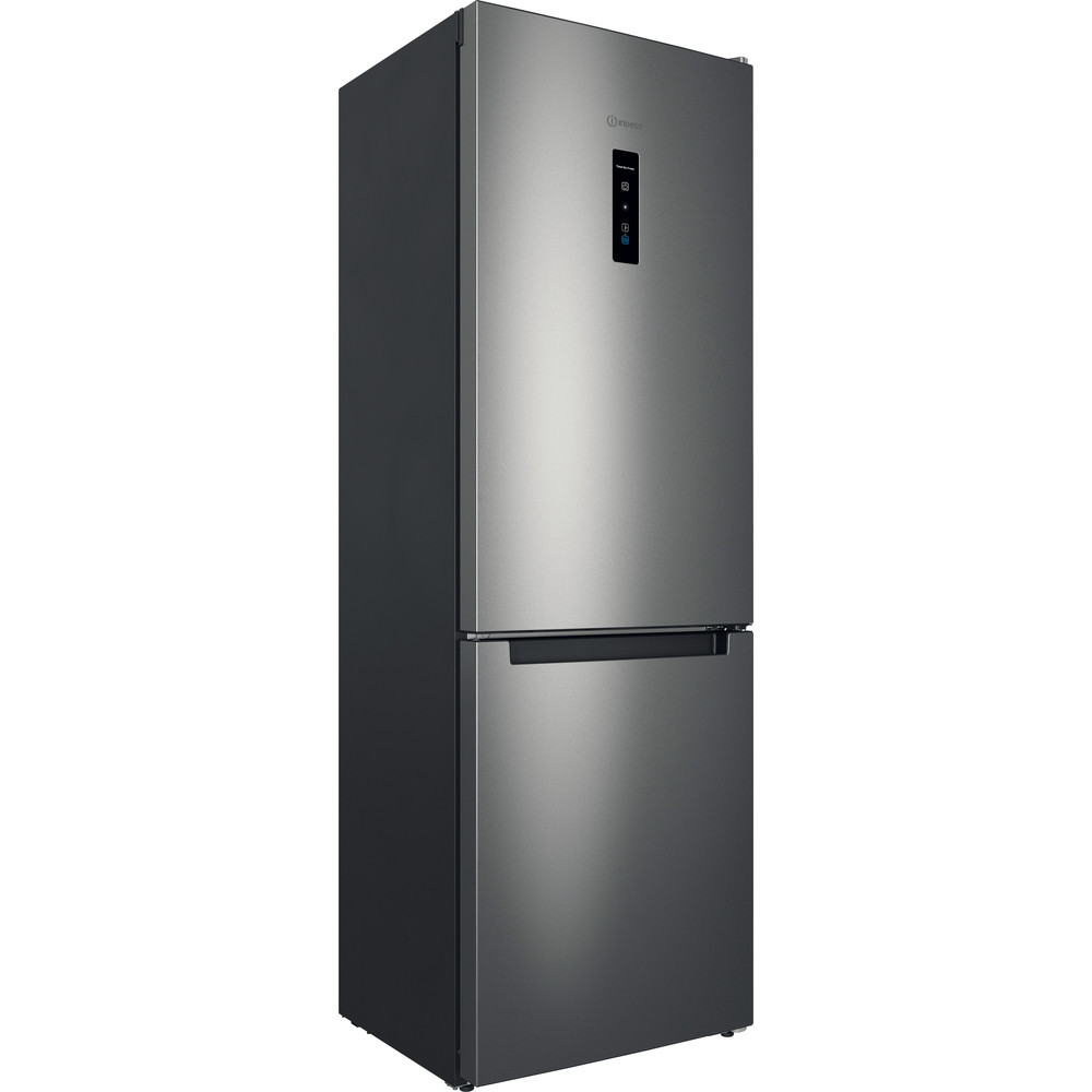 Indesit Холодильник з нижньою морозильною камерою. Соло ITI 5181 S UA Сріблястий 2 двері Perspective