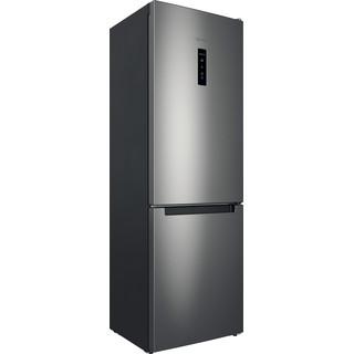 Indesit Холодильник с морозильной камерой Отдельно стоящий ITI 5181 S UA Серебристый 2 doors Perspective