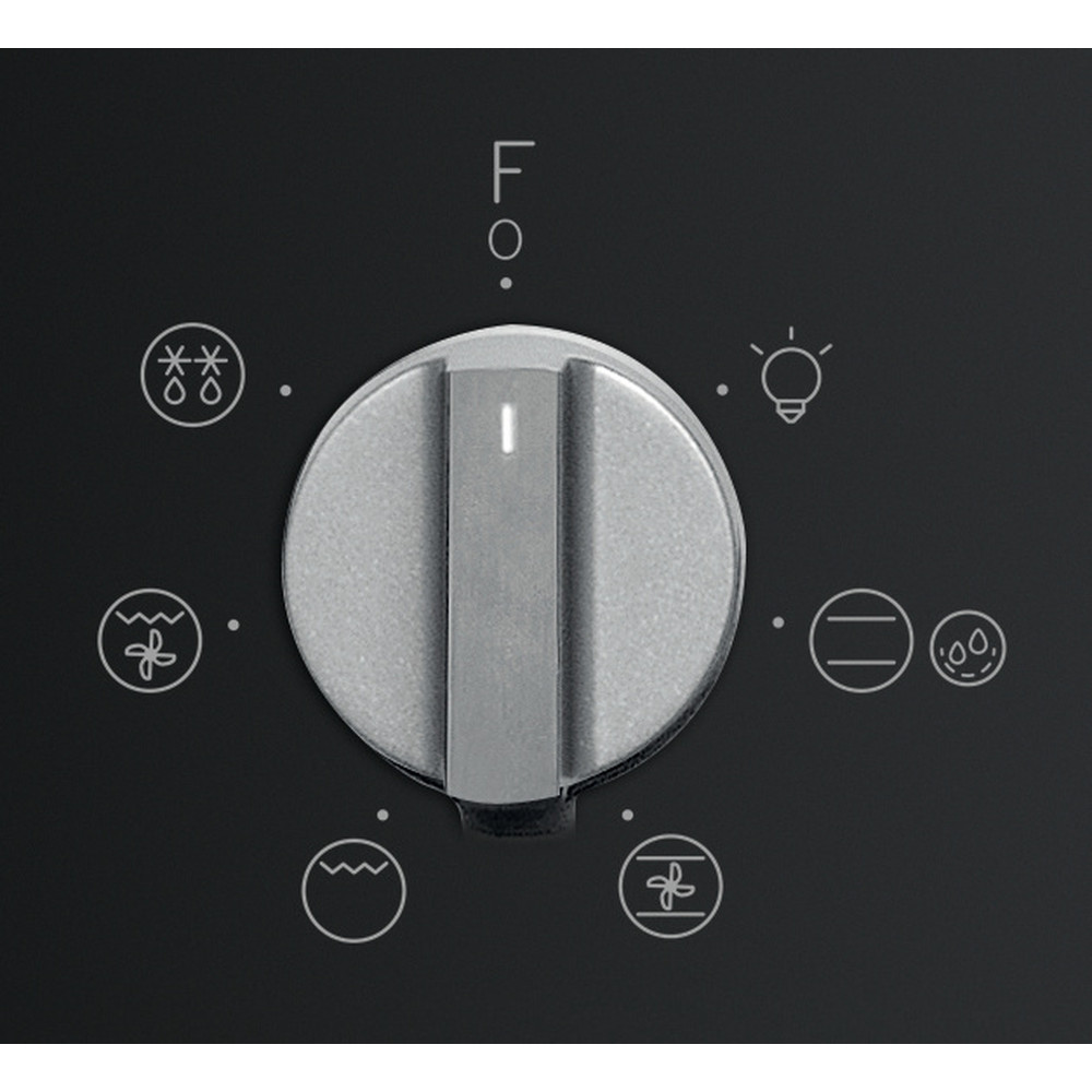 Indesit Духовой шкаф Встраиваемый IFW 4534 H BL Электрическая A Control_Panel