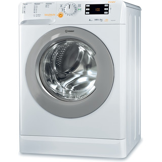 Lavante-séchante posable Indesit : 8 kg