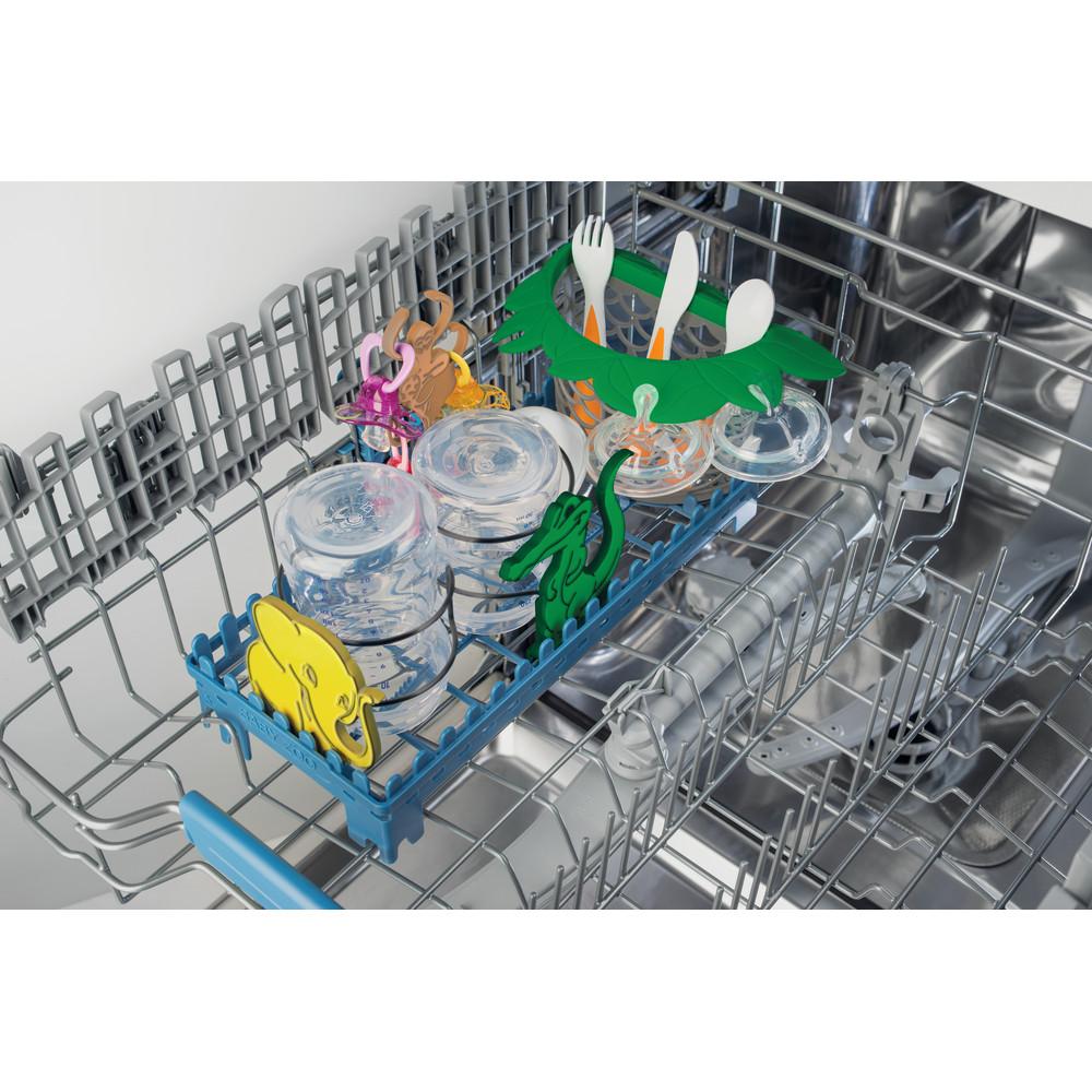 Indesit Посудомоечная машина Отдельно стоящий DSR 57H96 Z S Отдельно стоящий A++ Rack
