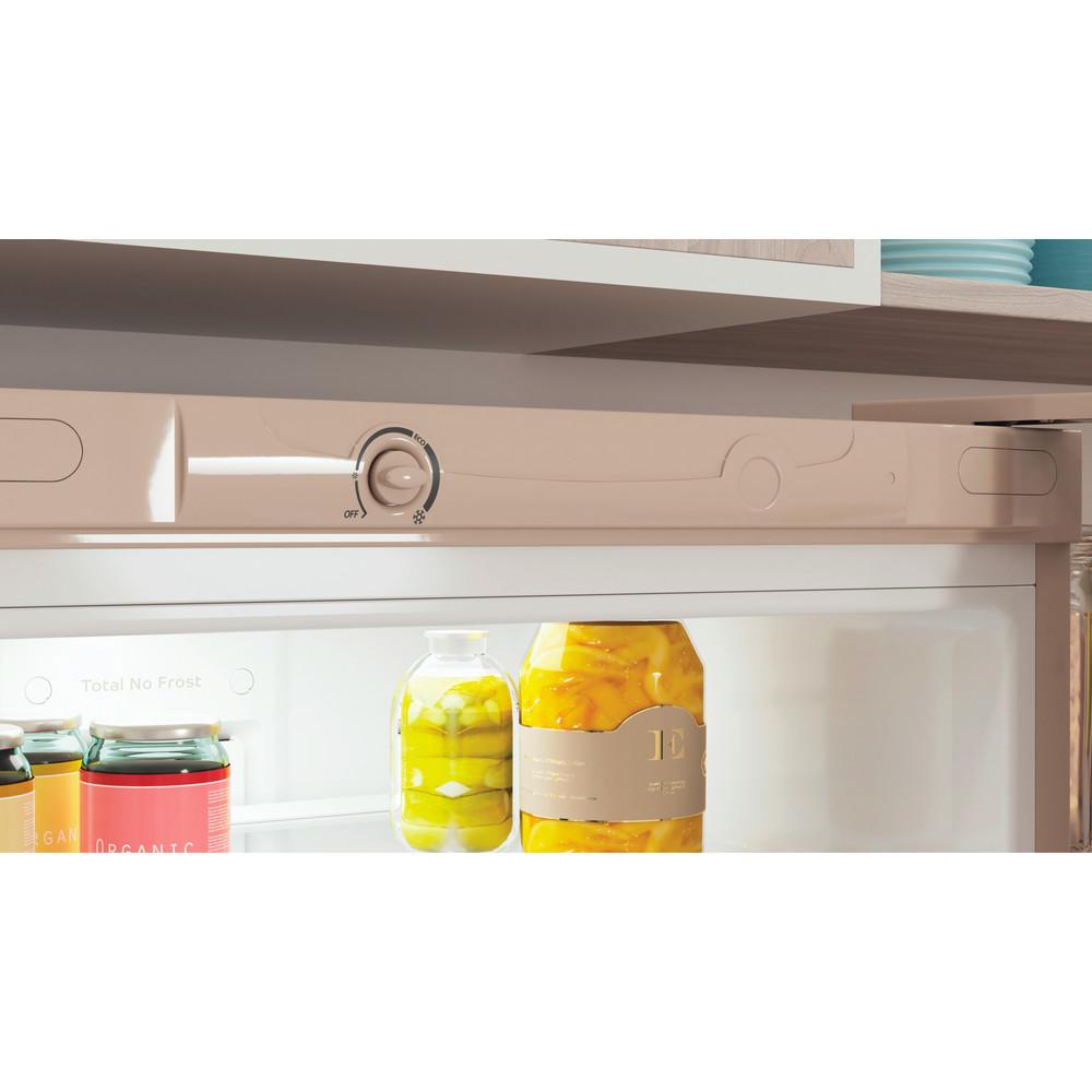 Indesit Холодильник с морозильной камерой Отдельностоящий ITS 4200 E Розово-белый 2 doors Lifestyle control panel
