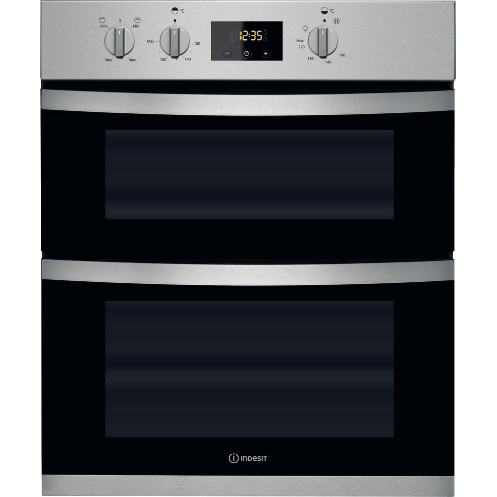 Indesit Double oven KDU 3340 IX Inox B Frontal