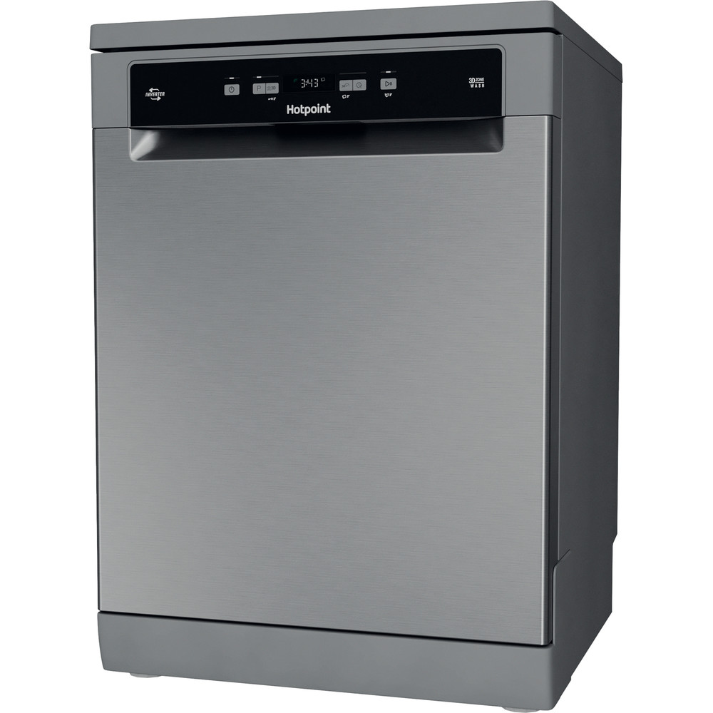 Hotpoint Dishwasher Free-standing HFC 3C26 WC X UK Free-standing E Perspective