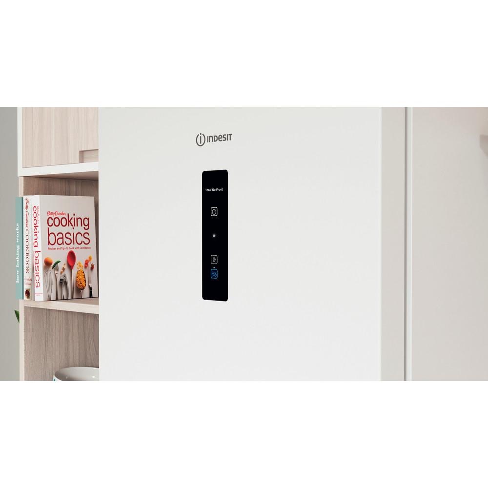 Indesit Холодильник с морозильной камерой Отдельно стоящий ITI 5181 W UA Белый 2 doors Lifestyle control panel