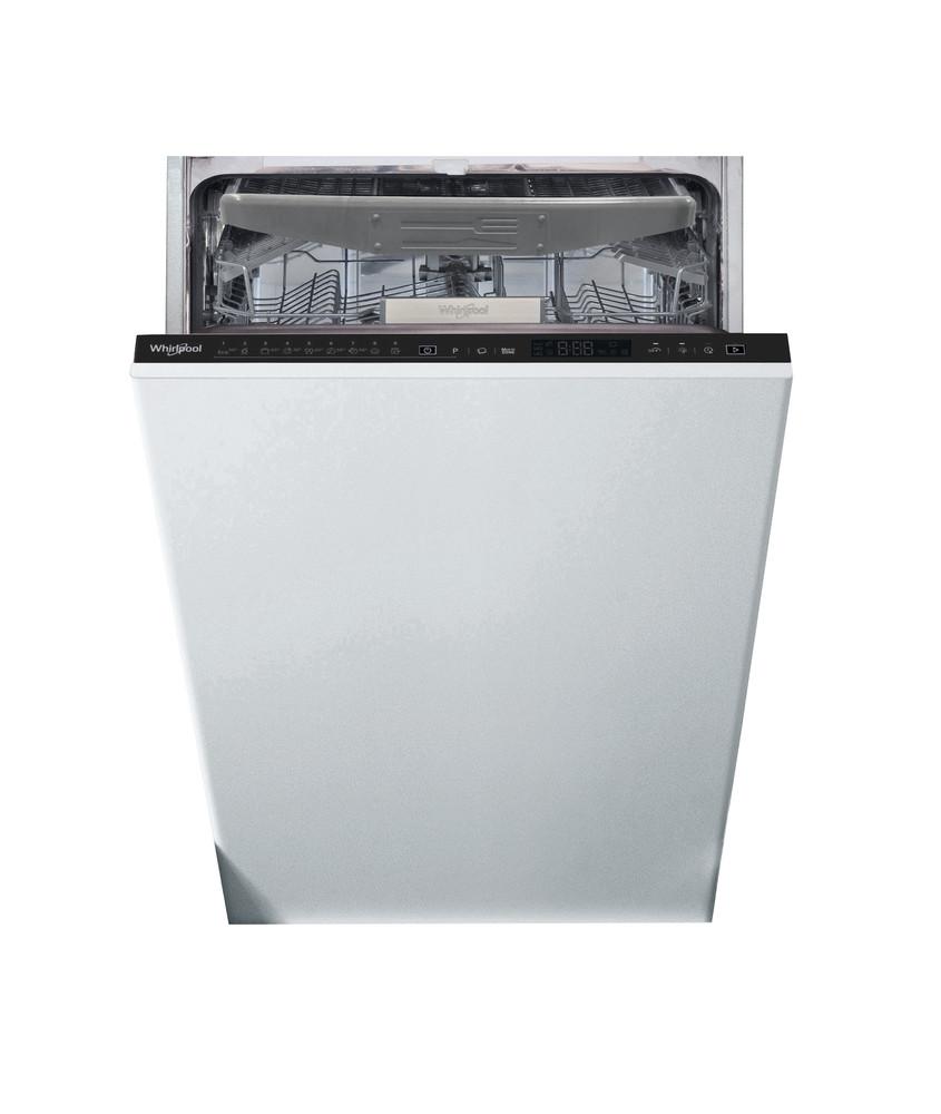 Whirlpool Dishwasher Vgradni WSIP 4O23 PFE Povsem vgrajen E Frontal