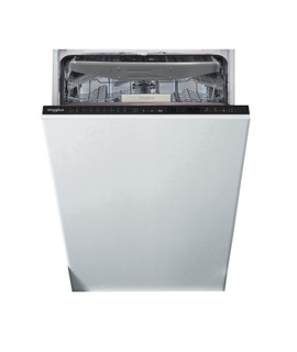 Whirlpool beépíthető mosogatógép: fekete szín., keskeny - WSIP 4O23 PFE