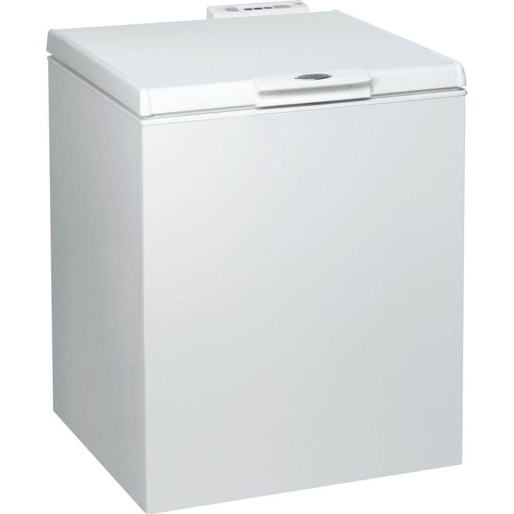 Whirlpool frysbox: färg vit - WH2000