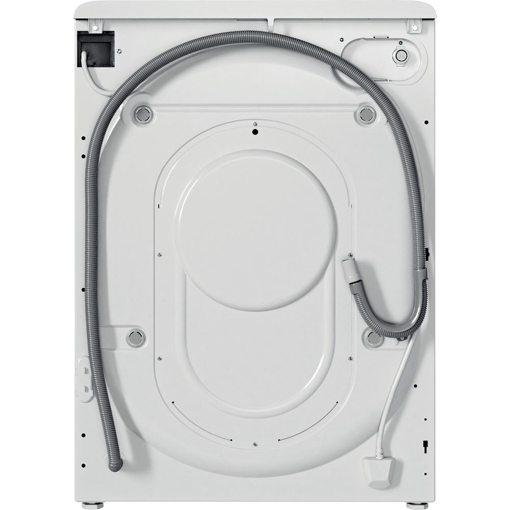 Indesit Lavadora secadora Libre instalación BDE 761483X W SPT N Blanco Cargador frontal Back / Lateral