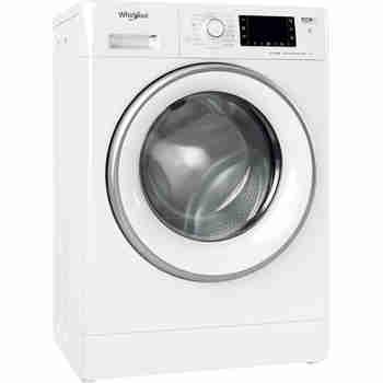 Whirlpool Maşină de spălat rufe Independent FWSD 71283 SV EE N Alb Încărcare frontală D Perspective