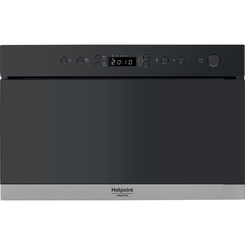 Hotpoint_Ariston Microonde Da incasso MN 713 IX HA Inox Elettronico 22 Microonde + grill 750 Frontal